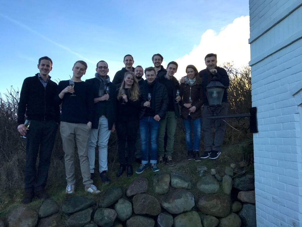 Söl'ring Hof-Team mit Johannes King