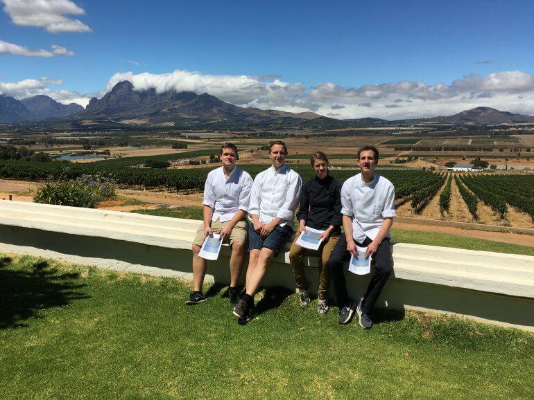 Söl'ring Hof Team in Südafrika