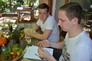 Das Team vom Söl'ring Hof in Südafrika
