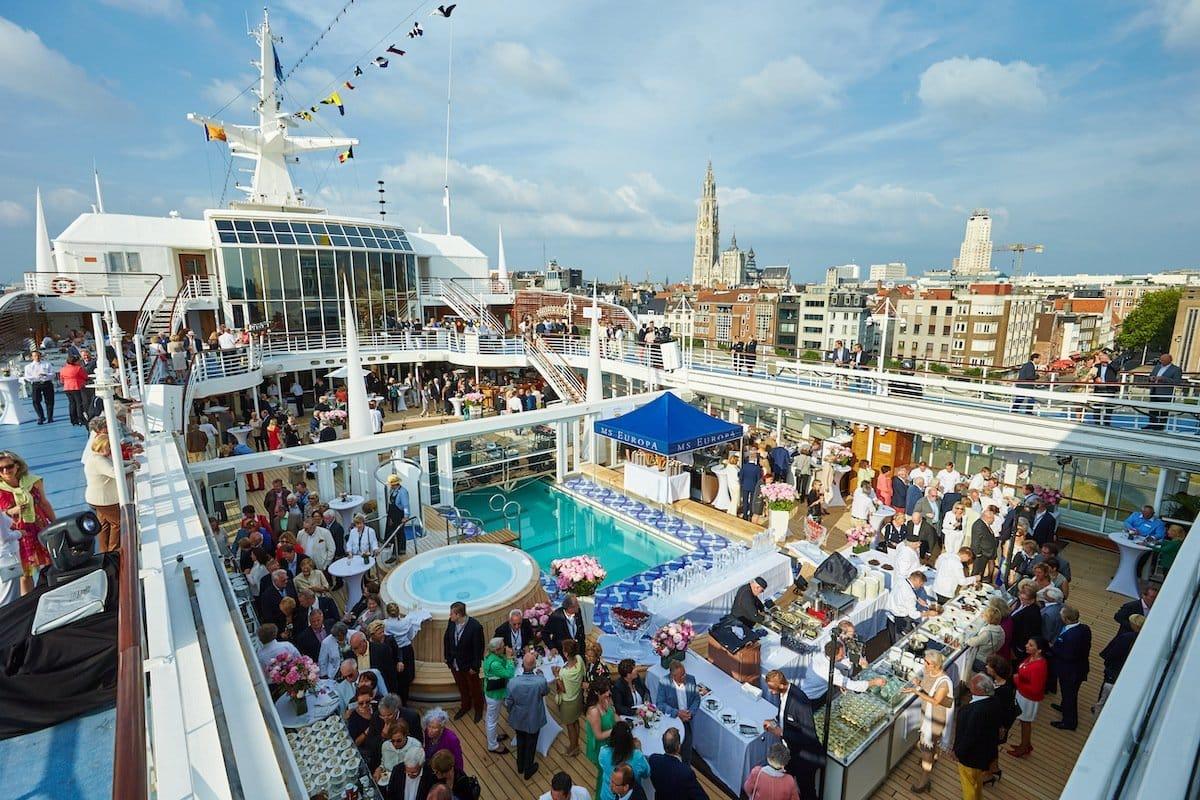 Europas Beste gourmet-festival an bord der MS europa