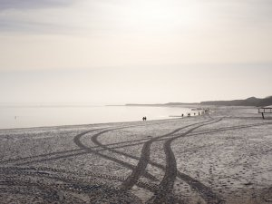 Sylt im Winter – Strand