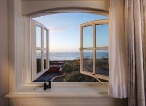 Blick aus dem Fenster | Söl'ring Hof