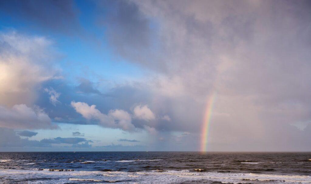 Das Farbenspiel des Regenbogens | Söl'ring Hof