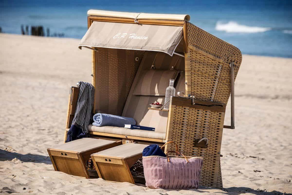 Strandkorb auf Sylt | Söl'ring Hof
