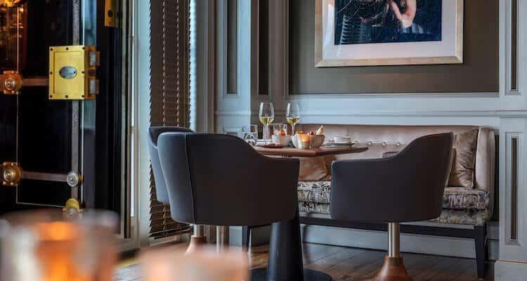 Die Bar im Luxushotel Söl'ring Hof