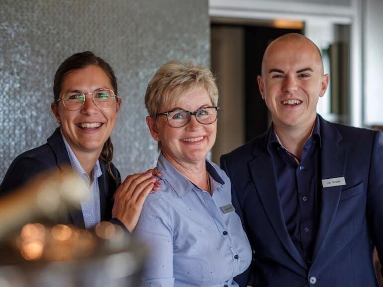 Ein starkes Team – Burkardt-Heiden-Smetak | Söl'ring Hof