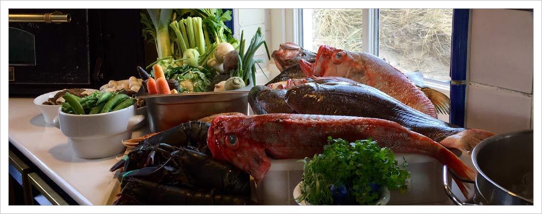 Kochkurs mit Sternekoch Fisch total